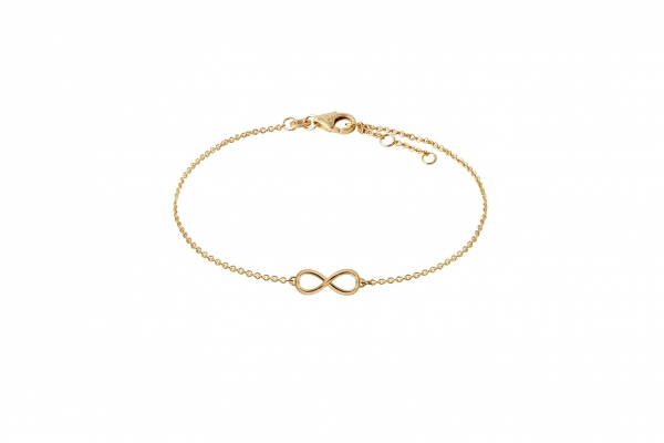 Infinity Armband Gelbgold 585/-