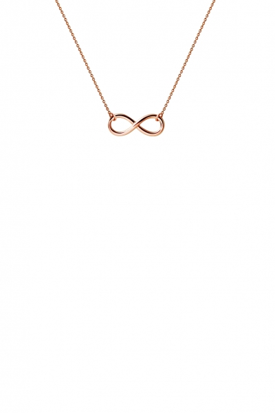 Infinity Collier Rosegold 585/-