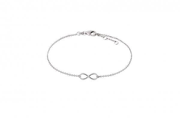 Infinity Armband Weißgold 585/-