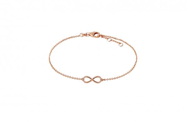 Infinity Armband Rosegold 585/-